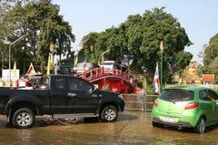 06泰国的洪水 库存图片