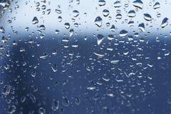 06滴雨珠 免版税库存照片