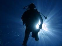 06潜水员 库存图片