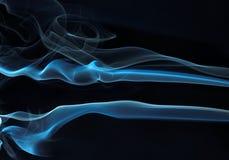 06 αφηρημένες σειρές καπνού Στοκ Εικόνες