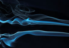 06 абстрактных серий дыма Стоковое Фото