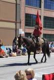 06 12 2010 парадов portland Орегона празднества подняли Стоковое Фото