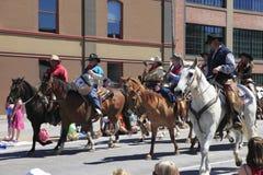 06 12 2010 парадов portland Орегона празднества подняли Стоковые Изображения