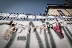 06 2011 демонстраций держат февраль, котор arcore Стоковые Изображения