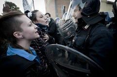 06 2011 демонстраций держат февраль, котор arcore Стоковое Изображение