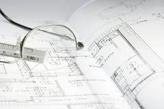 06 budynek projektów Obrazy Royalty Free