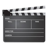 06 Film Slate Stock Photo