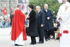 06 ha 6月波兰总统warszaw 免版税库存照片