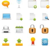 06  Internet Icons Stock Images