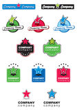 06 kolekci logo Obraz Stock