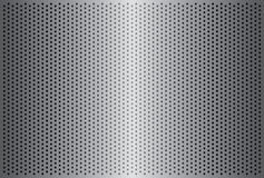 06 Metallic Grille. Background texture of a sheet of steel royalty free illustration