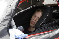 06 nascar proglide της Gillette Ιούνιος 500 τήξης Στοκ Εικόνες