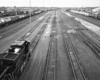 06 yard linii kolejowych Obraz Stock