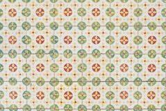 062 glasade portugisiska tegelplattor Arkivfoto