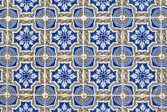 068 glasade portugisiska tegelplattor Arkivbilder