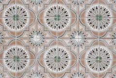 069 glasade portugisiska tegelplattor Arkivfoton
