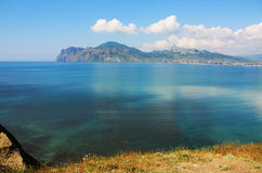 0697 podpalany fotografii seascape widok Fotografia Stock