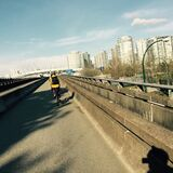 06April2015 Bicycling to work Royalty Free Stock Image