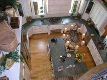 07个厨房豪华空间 免版税库存照片