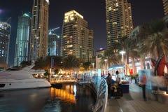 07个团结的阿拉伯迪拜酋长管辖区海滨广场 库存图片