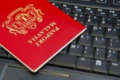 07个国际护照系列 库存照片