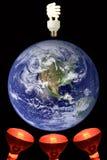 07全球性变暖 免版税库存图片