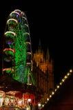 07圣诞节埃福特市场 免版税库存图片