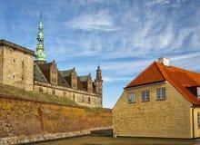 07座城堡kronborg 免版税库存图片