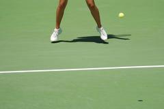 07影子网球 免版税图库摄影