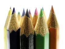 07支铅笔 免版税库存图片