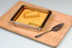 07新鲜被烘烤的面包的玉米 免版税库存照片