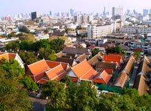 07曼谷俯视图 库存图片