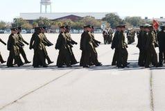 07毕业海军陆战队员 图库摄影