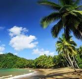 07海滩加勒比多巴哥 免版税库存图片