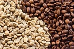 07粒豆咖啡 免版税图库摄影