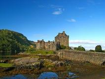 07 écossais des montagnes de château Photographie stock