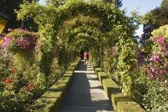 07 κήποι butchart Στοκ Εικόνες