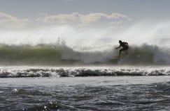 07 занимаясь серфингом Стоковые Фотографии RF