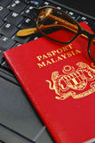 07 международных серий пасспорта Стоковые Изображения