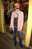 07 12 19加州衣物咨询编辑强壮的好莱坞kyla laink纹身花刺汤普森 库存图片