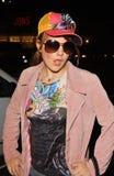 07 12 19加州衣物咨询编辑强壮的好莱坞kyla laink纹身花刺汤普森 免版税库存图片