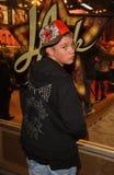 07 12 19本加州衣物咨询编辑强壮的好莱坞laink纹身花刺汤普森 免版税库存照片
