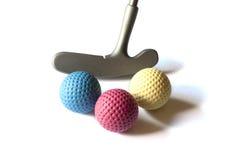 微型高尔夫球材料- 07 免版税图库摄影