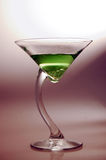 07 appletini martini Arkivbild