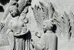 07 di scultura di pietra Fotografia Stock