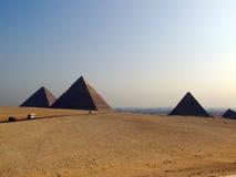 07 giza pyramider Royaltyfria Bilder