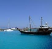 07 luksusowych jachtów fotografia royalty free