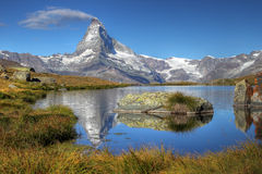 07 Matterhorn Switzerland Obrazy Royalty Free