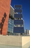 07 panneaux photovoltaïques Images libres de droits
