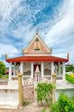 07 phetchaburi寺庙 库存照片